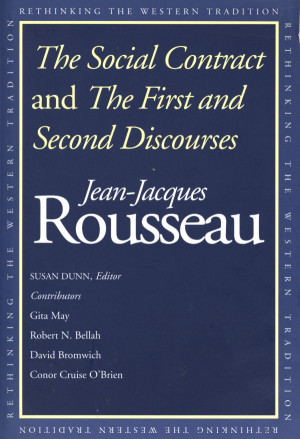 rousseau and the u s government The social contract jean jacques rousseau (1762) book iii before  speaking of the different forms of government, let us try to fix the exact sense of  the.