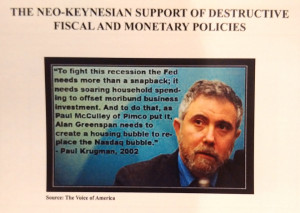 This Paul Krugman quote included is also not put in context
