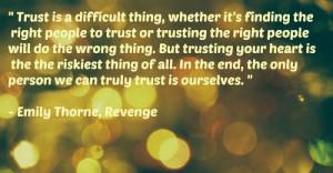 Emily Thorne Revenge Quotes Show