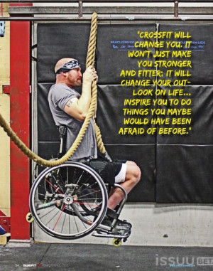 Crossfit inspires you to push harder than you ever knew you were ...