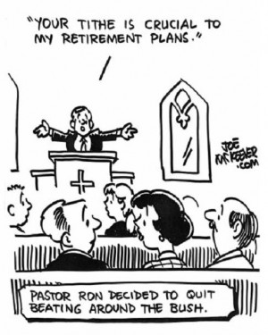 Comics on Tithing & Giving