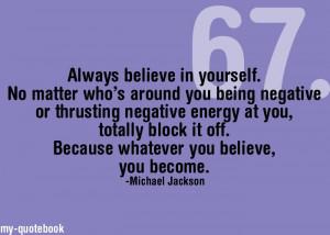 Negative Energy Quotes
