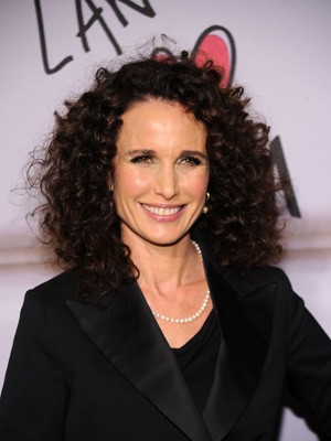 "Andie MacDowell ""A man who opens a door for a woman or gives up his ..."