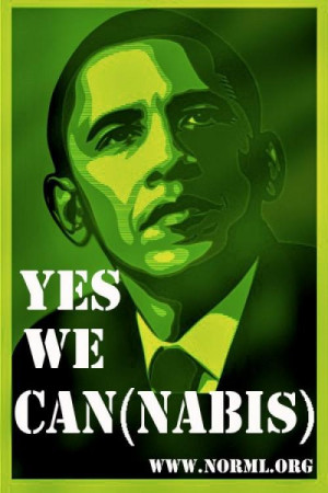 President Obama says smoking marijuana is