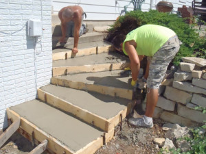 Pouring concrete quotes quotesgram for How to pour a concrete driveway