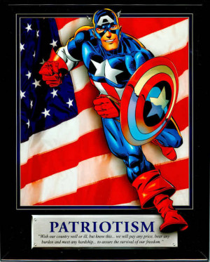 Patriotism quotes sayings quotations Captain America .jpg