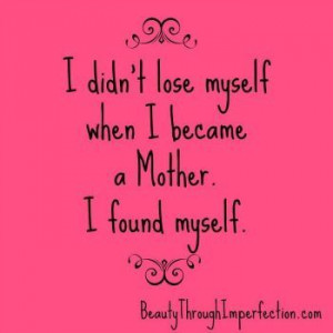 Wow..my all time favorite mother quote.... Happy Mother's day to all ...