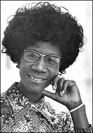 Shirley Chisholm Quotes