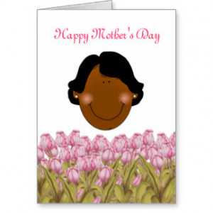 African American Happy Mother's Day