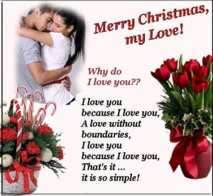 ... Lovers ~ Messagesforchristmas » Christmas Greeting Quotes For Lovers