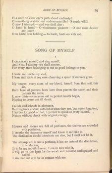 Cover Song Myself Walt Whitman