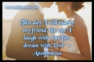 Related For Wedding Day Quotes For The Bride And Groom
