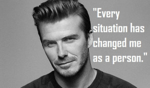 David Beckham Soccer Quotes