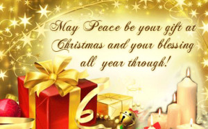 Merry Christmas Card Sayings Quotes
