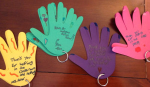 Helping Hands Quotes For Kids So i found these colored hands