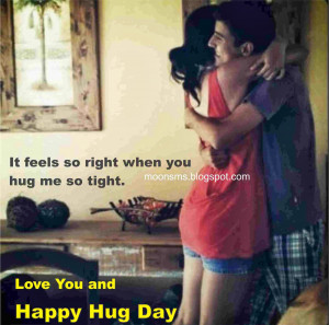 Happy Hug Day sms text message wishes quotes Hug day HD gif anjmted ...
