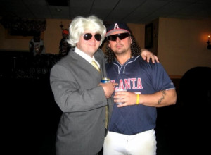 Ashley Schaeffer Wig and Kenny Powers Costume