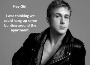 Ryan Gosling Notebook Quotes
