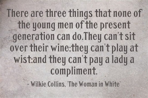 Jan 8 - Wilkie Collins Birthday