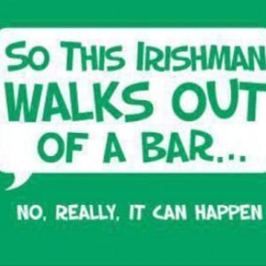 St. Patrick's Day funny quote