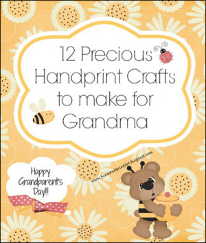 12 Handprint Crafts to Make for Grandma