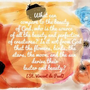 St. Vincent de Paul] spring quotes