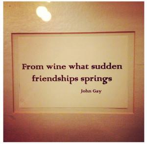 wine #friendship #quotes #art