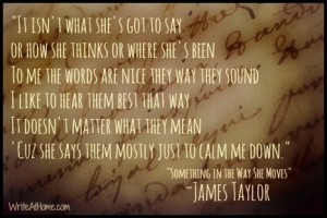 James Taylor Quote
