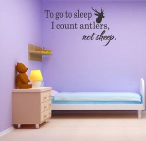 Wall-Decals-Nursery-Hunting-Deer-Baby-Humor-DECOR-Quotes-Removable ...