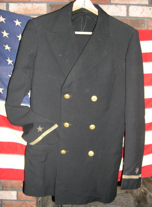 Ad Information - WWII Navy Officers Uniform