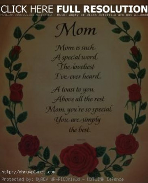 Mother Day 2012 Special Poems, Poetry for Your Mother