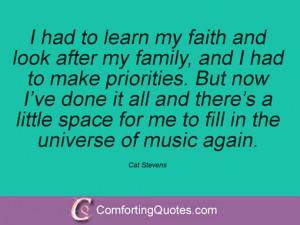 Cat Stevens Quotes
