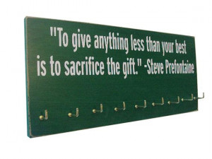 ... running quotes : Running Medals display Rack on Etsy, $28.99