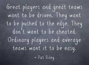 Pat Riley Quotes | Best Basketball Quotes!