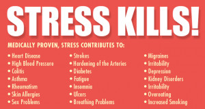 stress kills - stress relief management