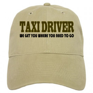 Career Gifts > Career Hats & Caps > Funny Taxi Driver Cap