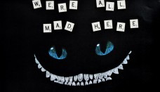 Were All Mad Here Quotes Wallpaper