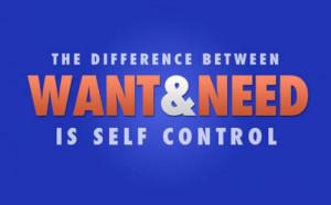 Pacifiersucker Self-control quotes