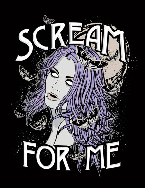 WWE Paige Logo Scream for Me