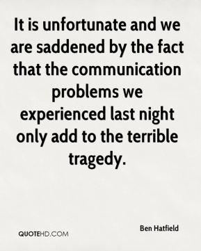 Saddened Quotes