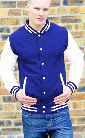 Cotton Baseball Jacket With Hood, Cotton Baseball Jacket With Hood