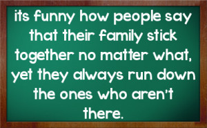 Sarcastic Family Quotes