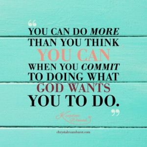 Women Of God Quotes Commit to doing what god