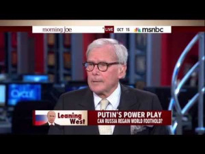 Tom Brokaw Mocks Obama's ISIS Coalition With Air Quotes – 10/15/14