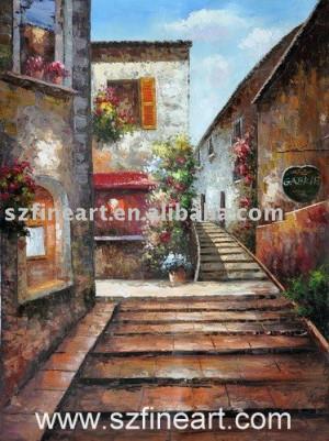 Mediterranean Landscape Oil Paintings