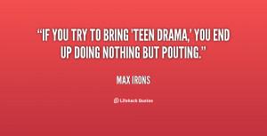 life drama quotes