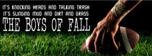 Boys of Fall Facebook Cover