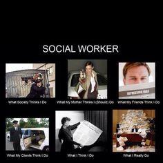 Social worker... Yep