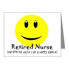 Nurse Retirement Thank You Cards & Note Cards