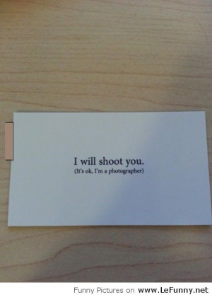 Funny business card!